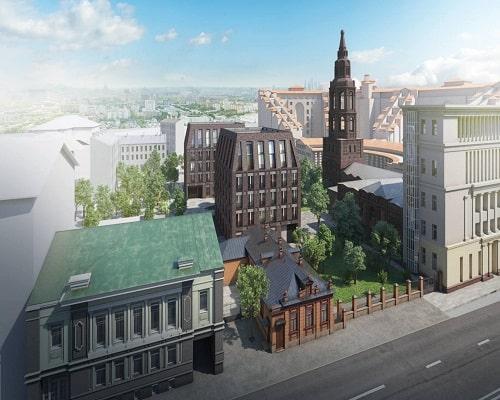 Топ 5 новостроек в центре Москвы. Старт продаж в 2020 г